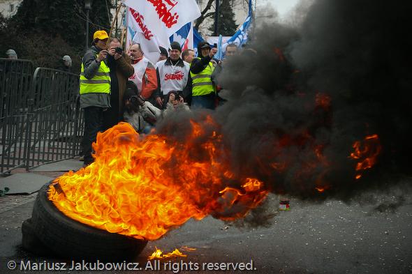 Protest zbrojeniówki